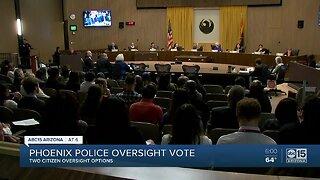 Phoenix police oversight vote