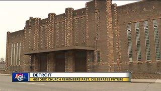 Historic Detroit church remembers past, celebrates future