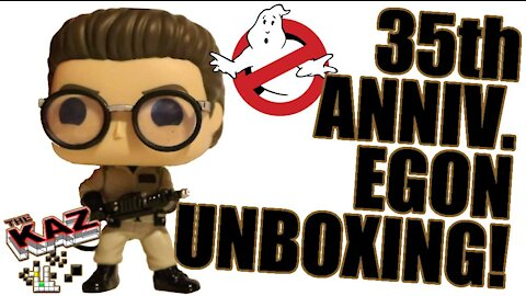 Ghostbusters 35th Anniversary Egon Funko Pop Unboxing