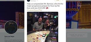 Lucky winner at Paris Las Vegas