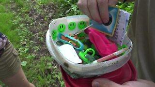 Geocaching: Finding hidden treasures around mid-Michigan