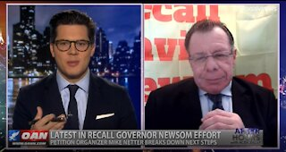 After Hours - OANN Recall Newsom with Mike Netter