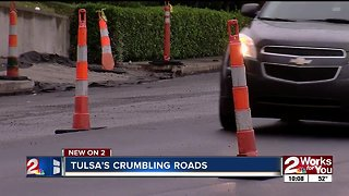 Tulsa roads ranked fifth-worst in country, costing locals thousands in car repairs