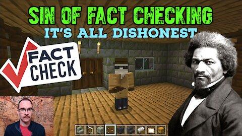 The Sin of Fact Checking (Frederick Douglas Meme)