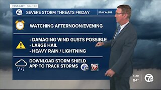 Storm concern for Friday