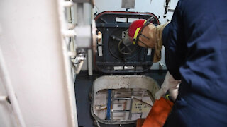 USS Princeton Commemorates Mine Strike Through Damage Control Readiness