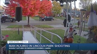 Man injured in Lincoln Park shooting