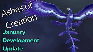Ashes of Creation January Development Update (Summary)