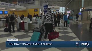 Holiday travel and COVID
