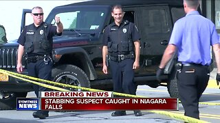 Stabbing suspect caught in Niagara Falls