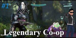 Let's play Halo 3 (Legendary) (Co-op) (Xbox Series X) Sierra 117 # 1-Monkeys