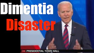 Joe Biden's Disastrous Town Hall + the Villains who Pushed Through Dementia Joe