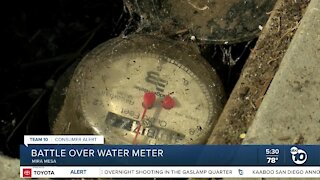 Homeowner: Disconnecting a water meter could cost thousands