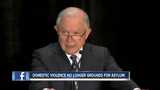 Jeff Sessions changes requirements for Asylum