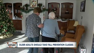 Older adults should take fall prevention classes