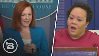 """Reporter Pushes Psaki: Not Wearing Masks After Vaccination Hurts """"People of Color"""""""