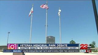Veteran Memorial Park Deabte