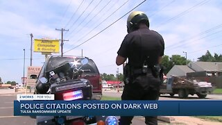 Tulsans urged to take precautions after Tulsa police citations posted on dark web