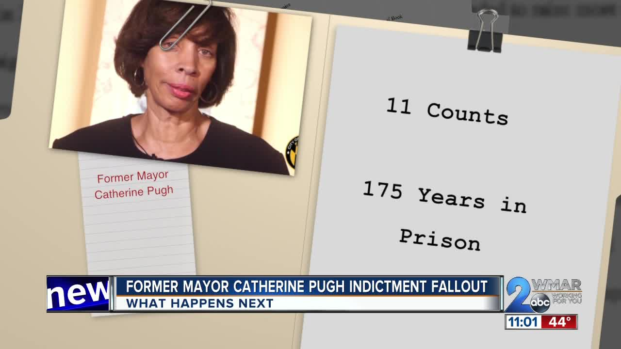 Former Mayor Catherine Pugh indictment fallout