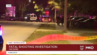 Fort Myers Police respond to deadly shooting