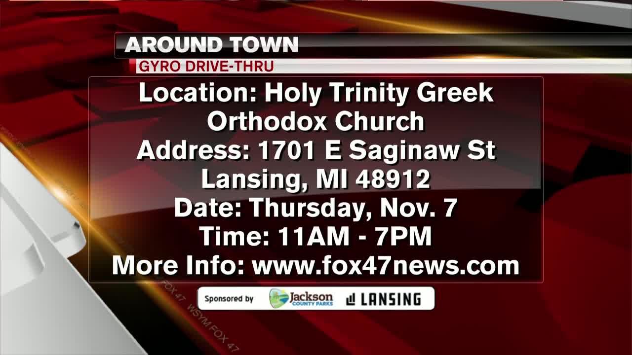 Around Town - Holy Trinity Greek Orthodox Church Annual Gyro Drive - 11/4/19