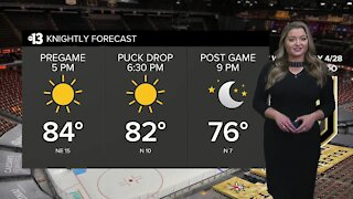 2021 Knightly forecast: April 28 game forecast