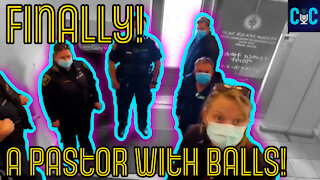 Pastor Chases Police Out Of Church, Finally A Pastor With Balls!