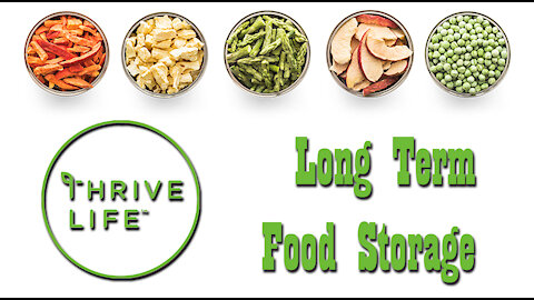 Thrive Life Freeze Dried Food Haul ~ March 2021 ~ Long Term Food Storage