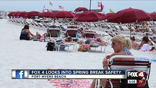 Spring Break Safety at Fort Myers Beach