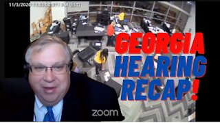 Georgia House Hearing Recap! More Evidence of Voter Fraud!! 12-10-2020