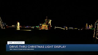 Drive-Thru Christmas Light Show open in Genesee County