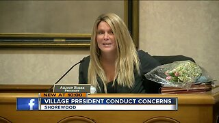 Shorewood board president defends position after run-ins with police