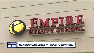 Mothers of gun violence victims get to be pampered