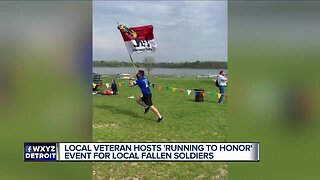 """Local veteran hosts """"Running To Honor"""" event for local fallen soldiers"""