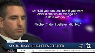 Ex-Sheriff's deputy Richard Fischer's sex misconduct investigation records released