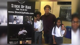 Brother and sister entrepreneurs create Stock Up Kids