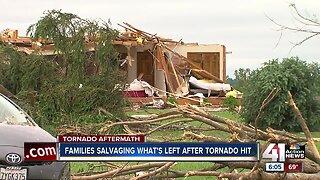 Linwood residents find homes destroyed after storm