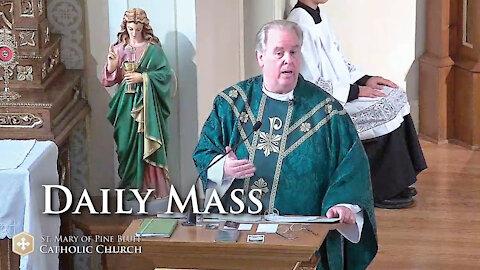 Fr. Richard Heilman's Sermon for Friday Oct. 8, 2021