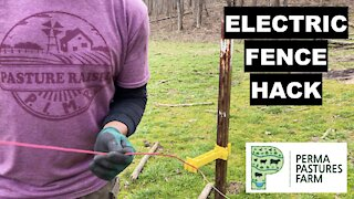Easy Electric Fence Hack!