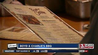 We're Open Omaha: Boyd & Charlies BBQ
