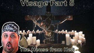 visage part 5   horror game   Dolores chapter   horror around every corner