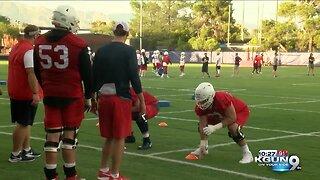 Arizona Football begins practice