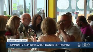 Community rallies to support Delray Beach restaurant after owner faces anti-Asian slurs