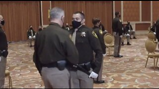 Graduation ceremony for new Las Vegas police officers