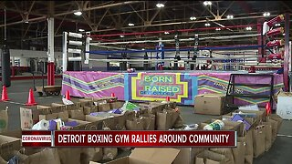 Helping Each Other: The Downtown Boxing Gym is staying Detroit tough in tough times