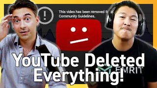 Why YouTube Censored🚫 + Deleted His Crypto Channels w/ 150,000+ Subscribers, 7,000+ Videos