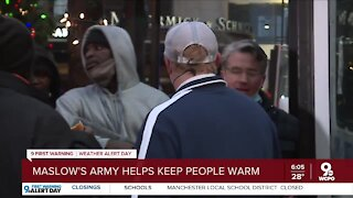 Maslow's Army helps keep people warm