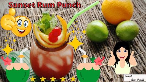 Sunset Rum Punch Recipe - Oh So Good!