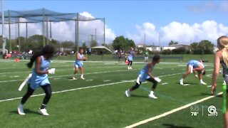 Keiser wins its first-ever flag football game