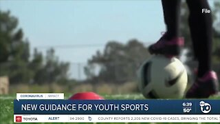 State releases new guidance for youth sports